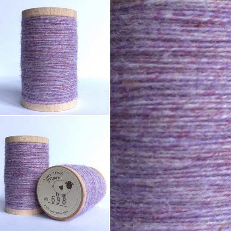 Rustic Moire Wool Thread #698