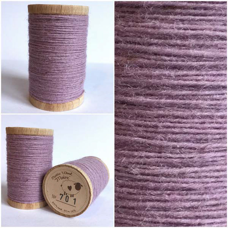 Rustic Moire Wool Thread #701