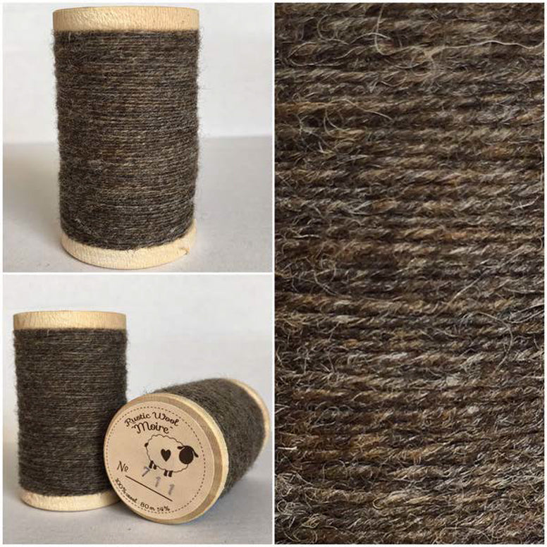 Rustic Moire Wool Thread #711