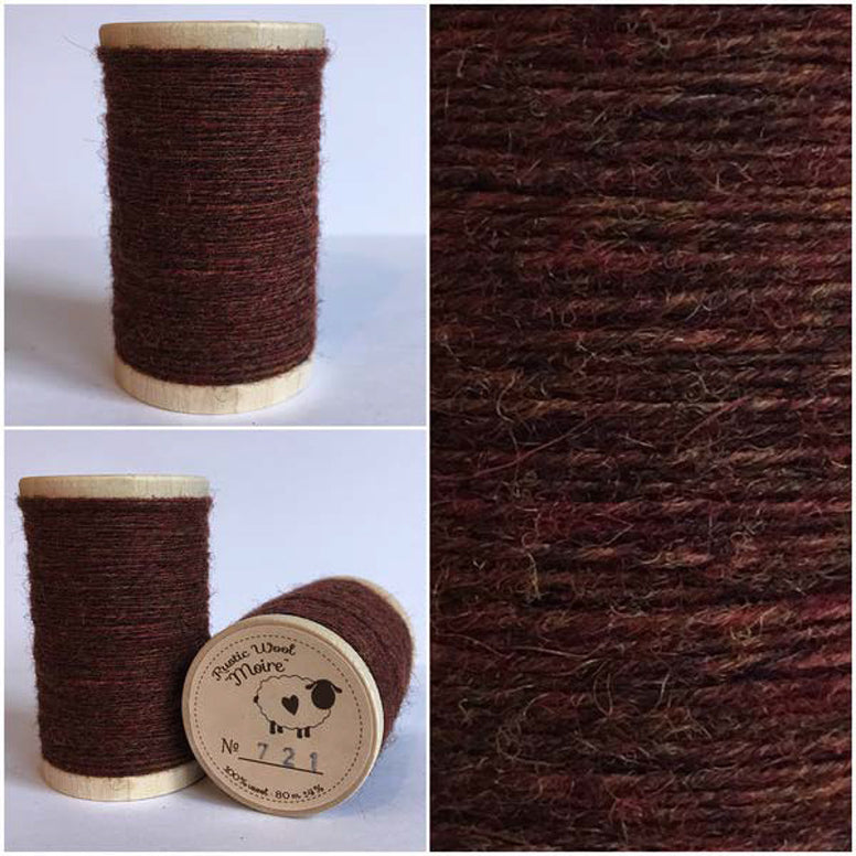 Rustic Moire Wool Thread #721