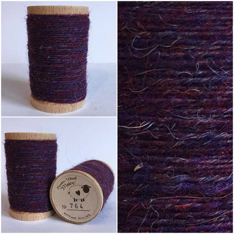 Rustic Moire Wool Thread #764