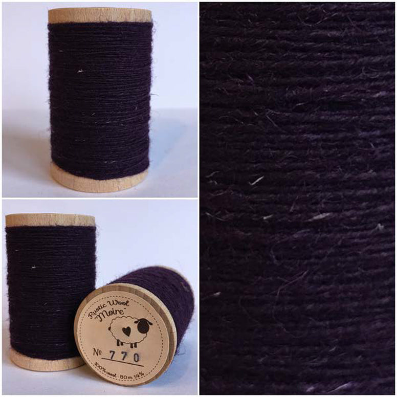 Rustic Moire Wool Thread #770