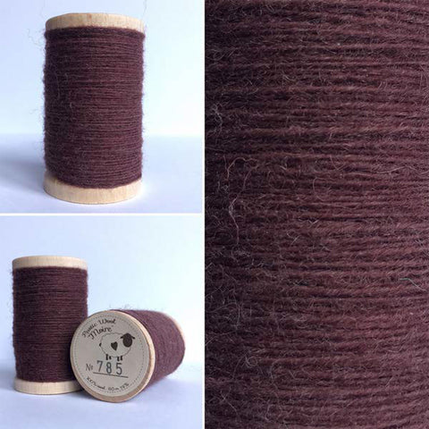 Rustic Moire Wool Thread #785