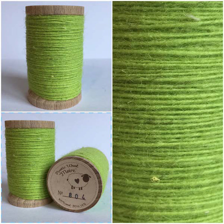 Rustic Moire Wool Thread #804