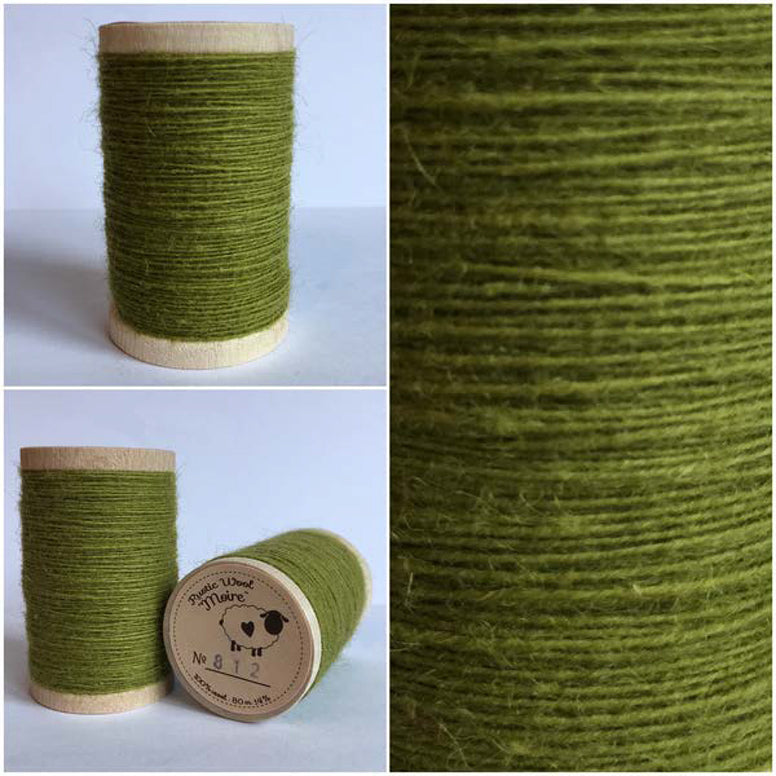 Rustic Moire Wool Thread #812