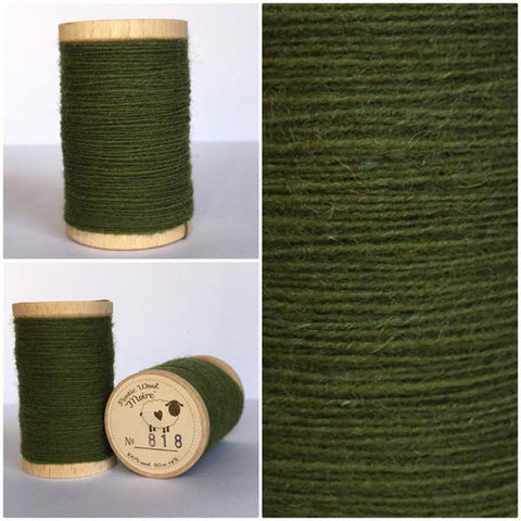 Rustic Moire Wool Thread #818