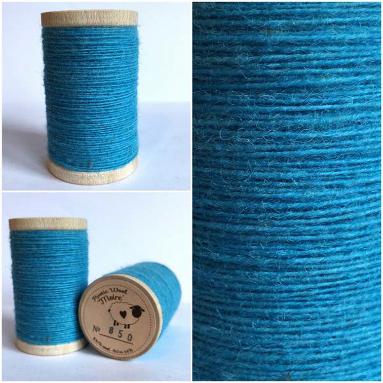 Rustic Moire Wool Thread #850