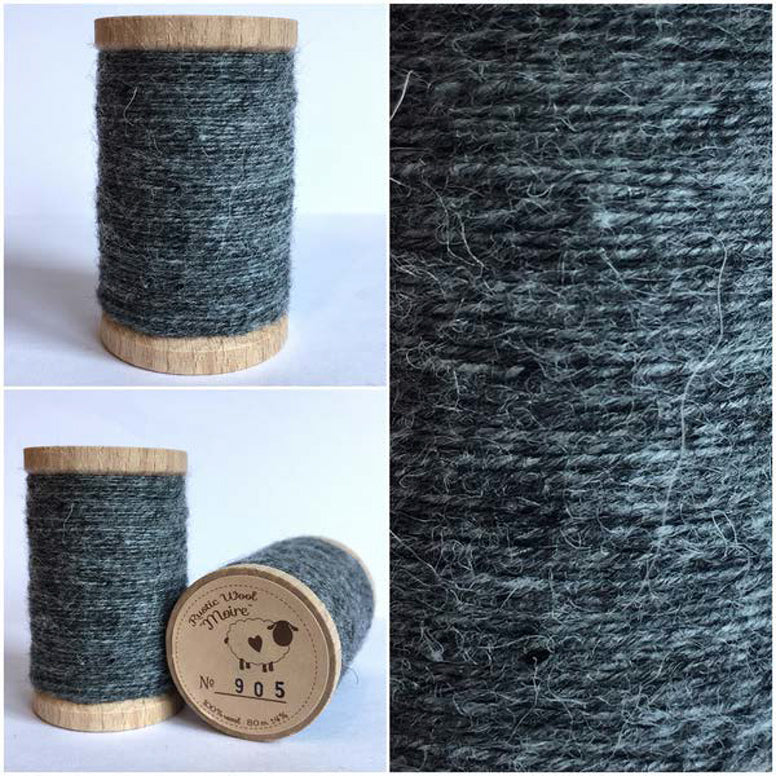 Rustic Moire Wool Thread #905