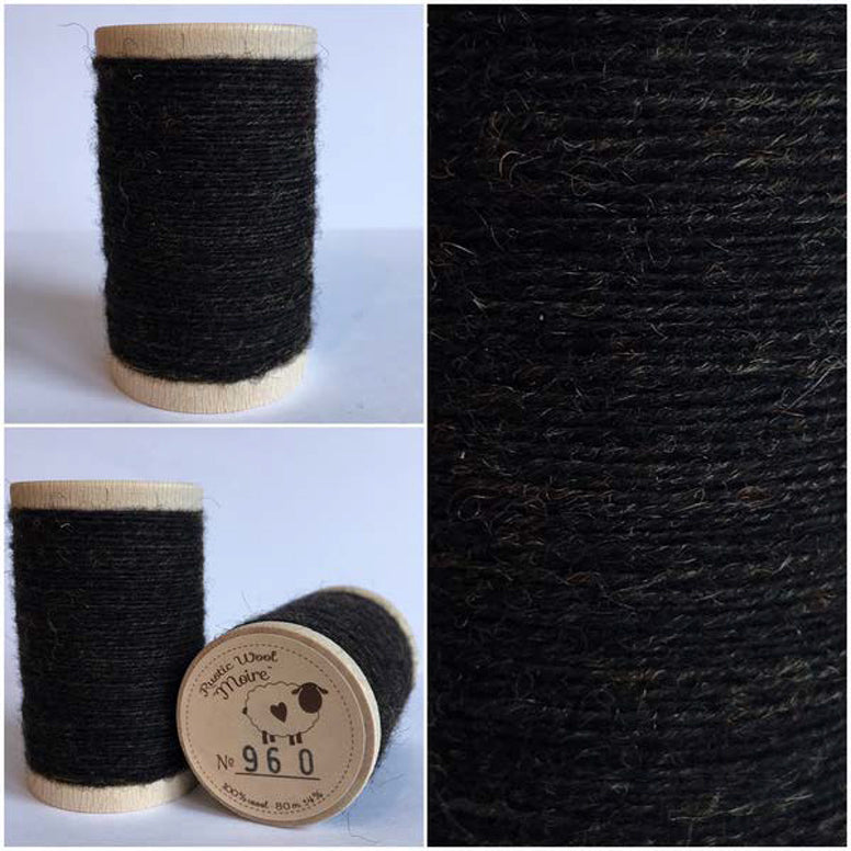 Rustic Moire Wool Thread #960