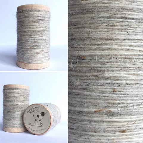 Rustic Moire Wool Thread #116