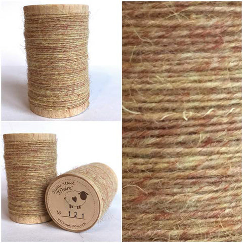 Rustic Moire Wool Thread #121