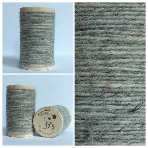 Rustic Moire Wool Thread #125