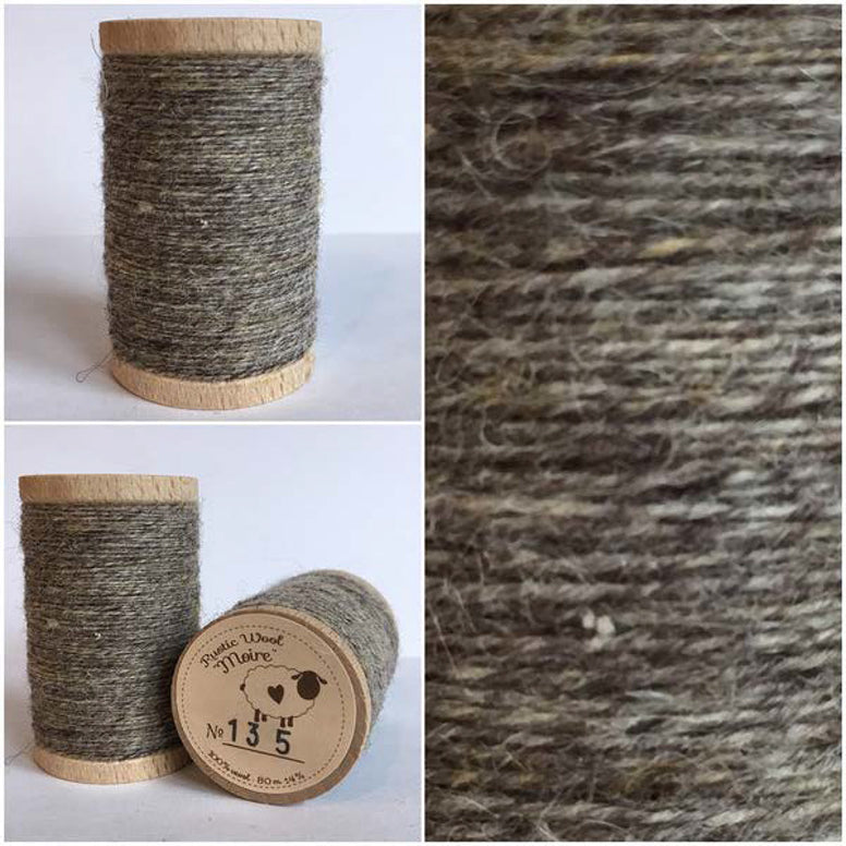 Rustic Moire Wool Thread #135