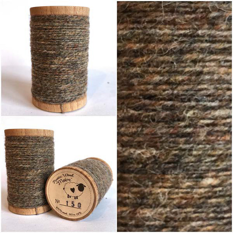 Rustic Moire Wool Thread #150