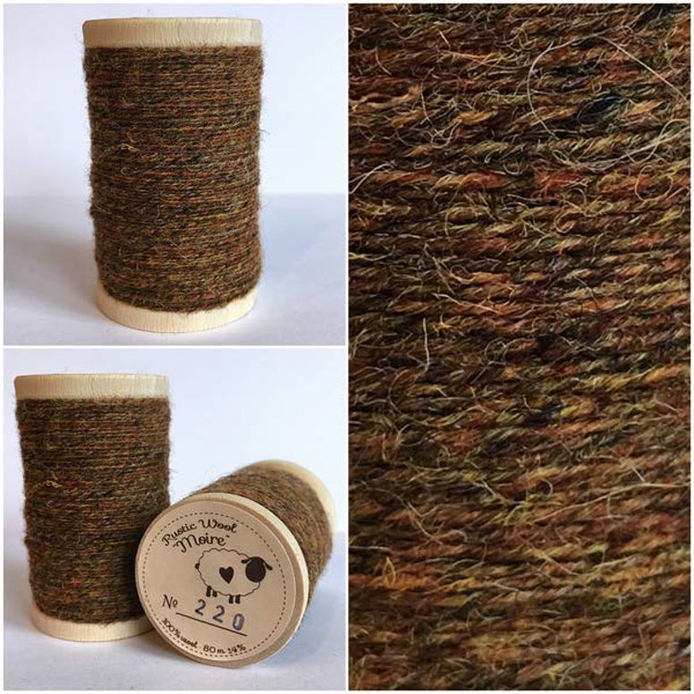 Rustic Moire Wool Thread #220