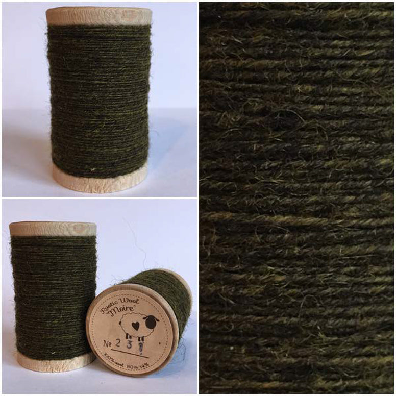 Rustic Moire Wool Thread #231