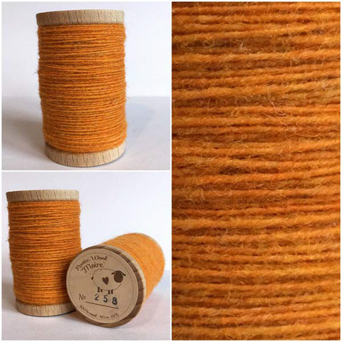Rustic Moire Wool Thread #258