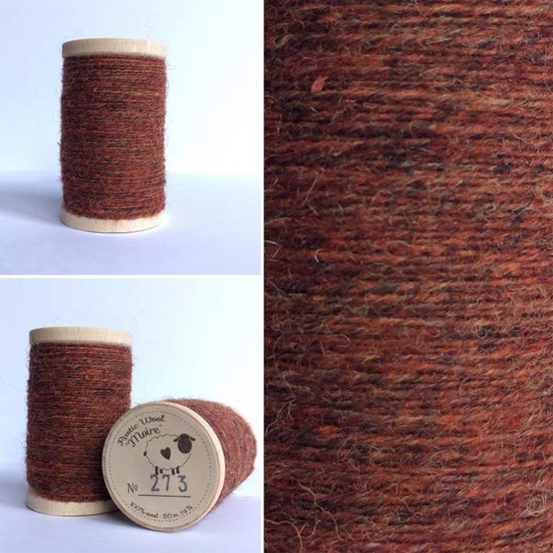 Rustic Moire Wool Thread #273