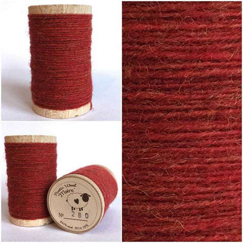 Rustic Moire Wool Thread #280