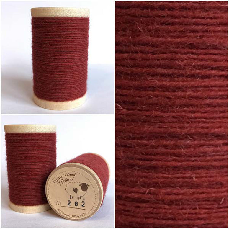Rustic Moire Wool Thread #282