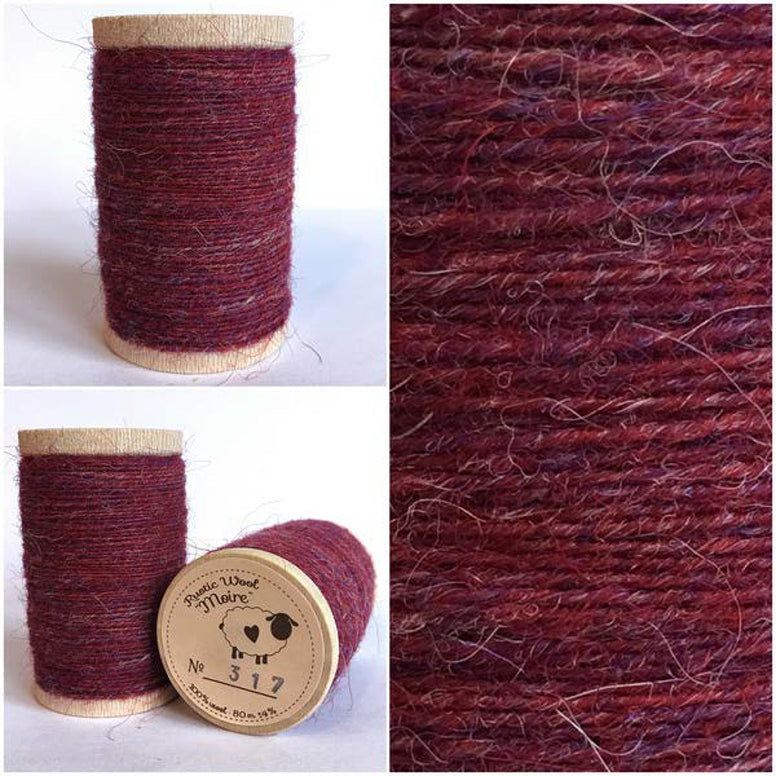 Rustic Moire Wool Thread #317