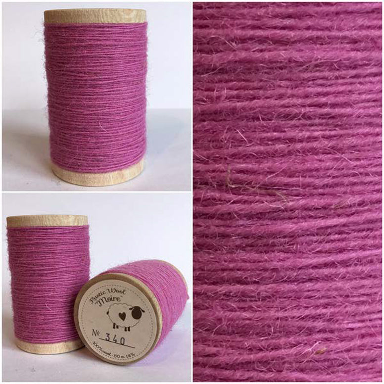 Rustic Moire Wool Thread #340