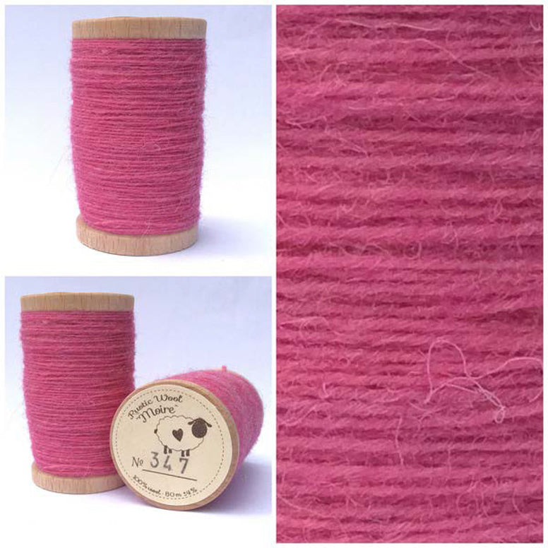 Rustic Moire Wool Thread #347