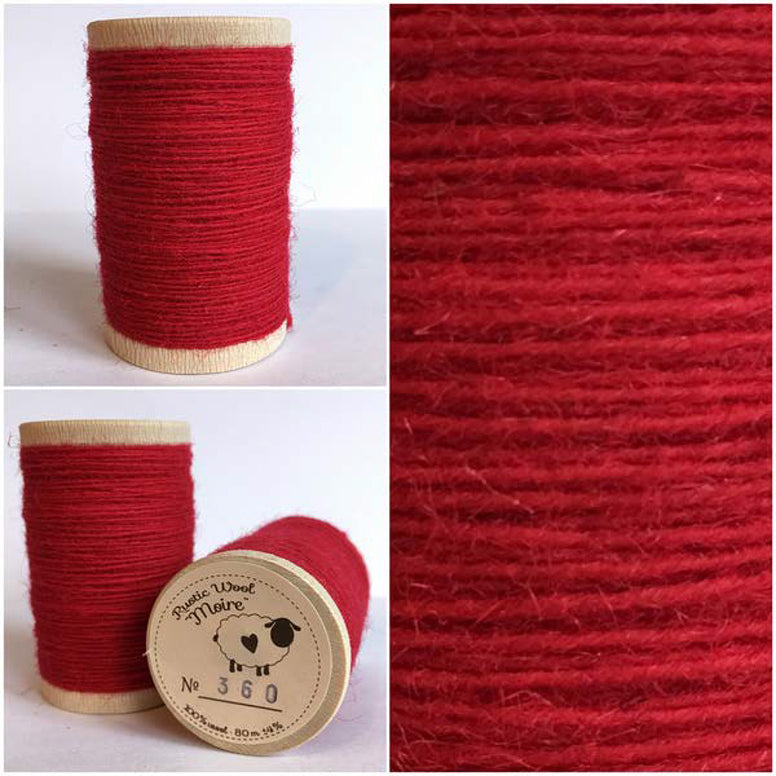 Rustic Moire Wool Thread #360
