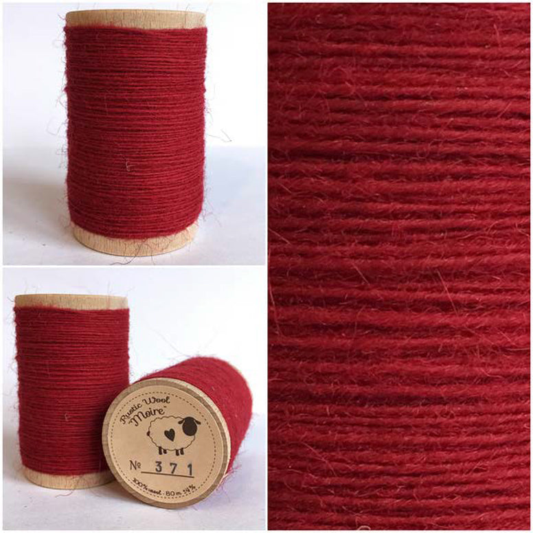 Rustic Moire Wool Thread #371