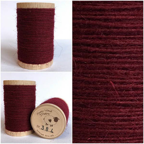 Rustic Moire Wool Thread #384