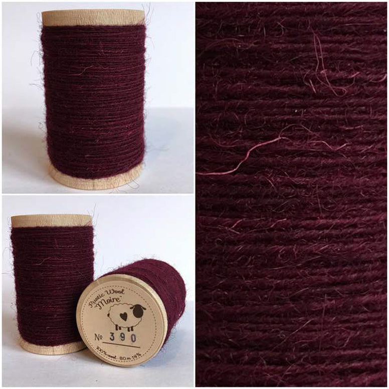Rustic Moire Wool Thread #390