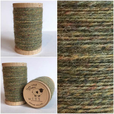Rustic Moire Wool Thread #405