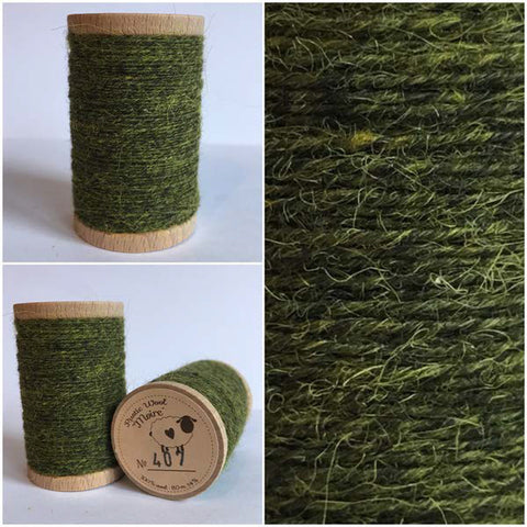 Rustic Moire Wool Thread #407