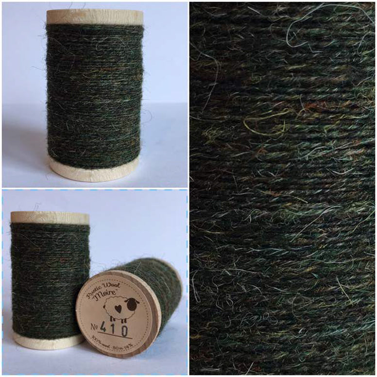 Rustic Moire Wool Thread #410