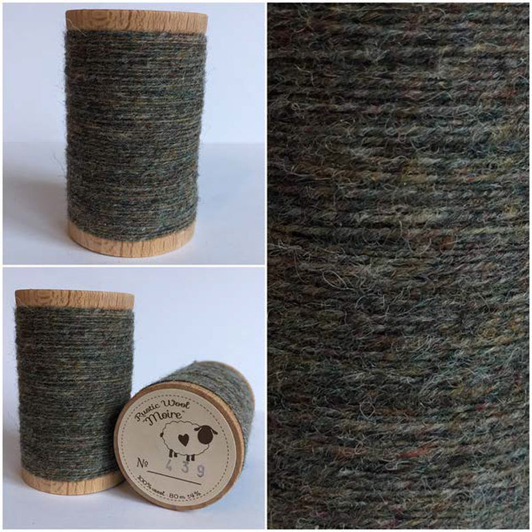 Rustic Moire Wool Thread #439