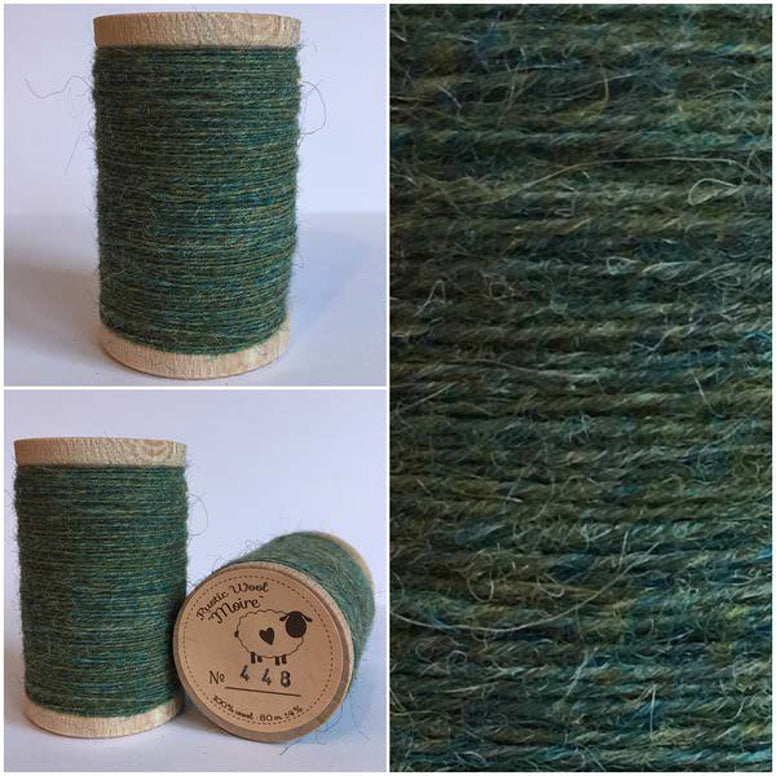 Rustic Moire Wool Thread #449