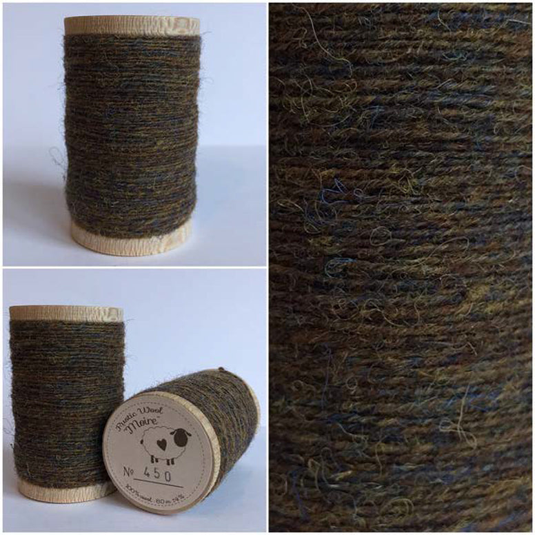 Rustic Moire Wool Thread #450