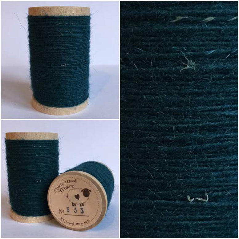 Rustic Moire Wool Thread #533