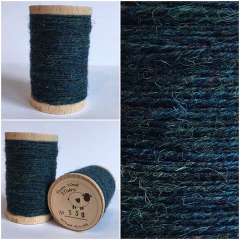 Rustic Moire Wool Thread #538