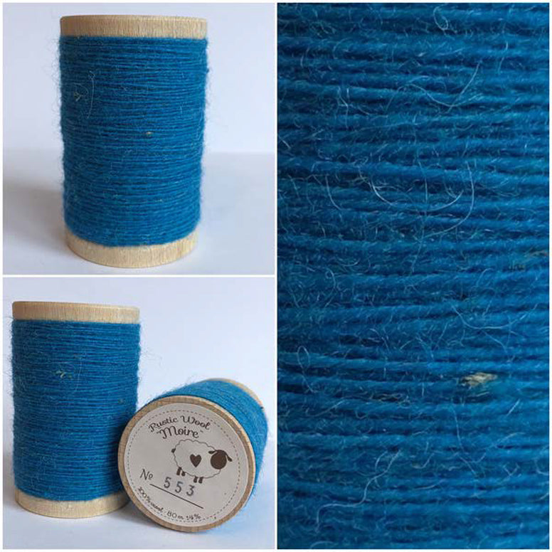 Rustic Moire Wool Thread #553