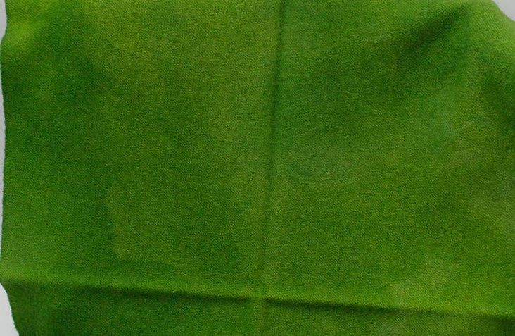 Avocado Green Hand Dyed Wool for Rug Hooking and Wool Applique