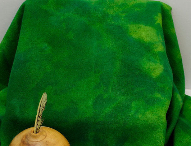 Shamrock Hand Dyed Wool for Rug Hooking and Wool Applique