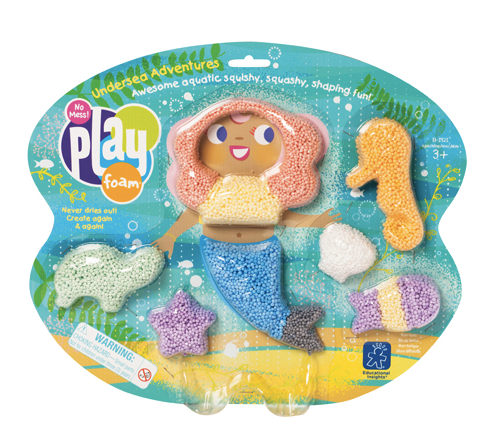 "PLAYFOAM ""SIRENA NEL MARE"" - MODELLABILE MICROSFERE"