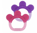 2 PZ TEETHER PAW - mordicchio (Rosa e Viola)