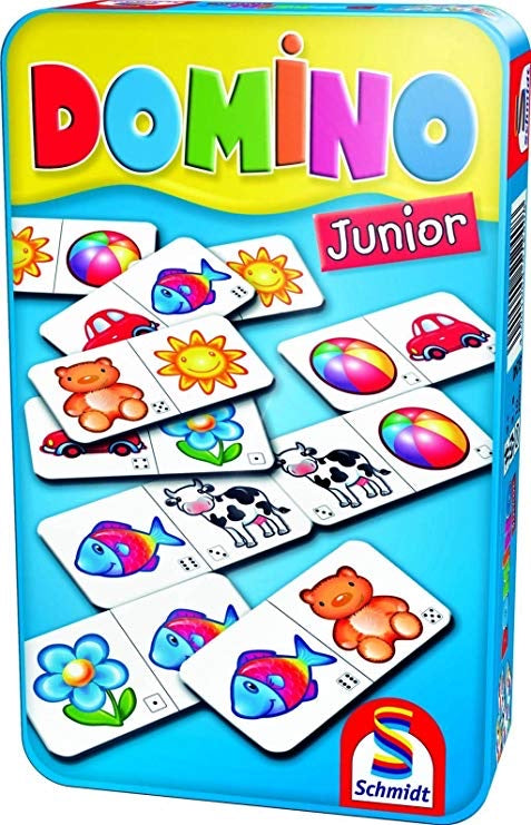 DOMINO JUNIOR metal box