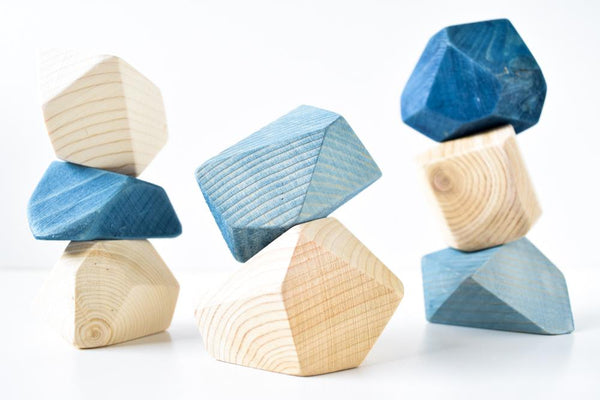 ROCK BLOCKS INDIGO 8pz
