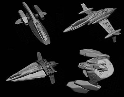 Preview of Wave2 Ships