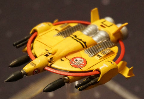 SCI3 - Manta Heavy Space Fighter (75mm)
