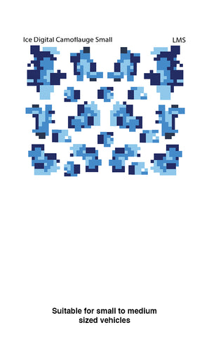 Decal - Ice Camoflauge (small)