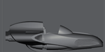 Sci-Fi Air Speeder stl file